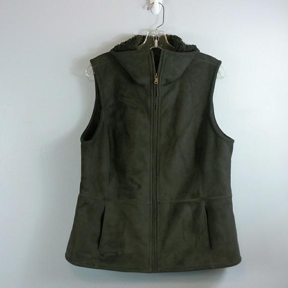Talbots Jackets & Blazers - Talbots faux suede Vest size Large